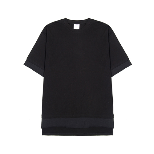 layered half t-shirt